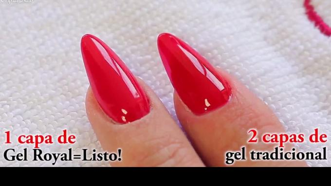 Royal Gel vs Classic Color Gel